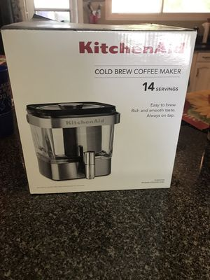 Never Opened KitchenAid Cold Brew Coffee Maker for Sale in Lindenwold, NJ