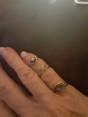 Choice of little finger rings. for Sale in PT CHARLOTTE, FL