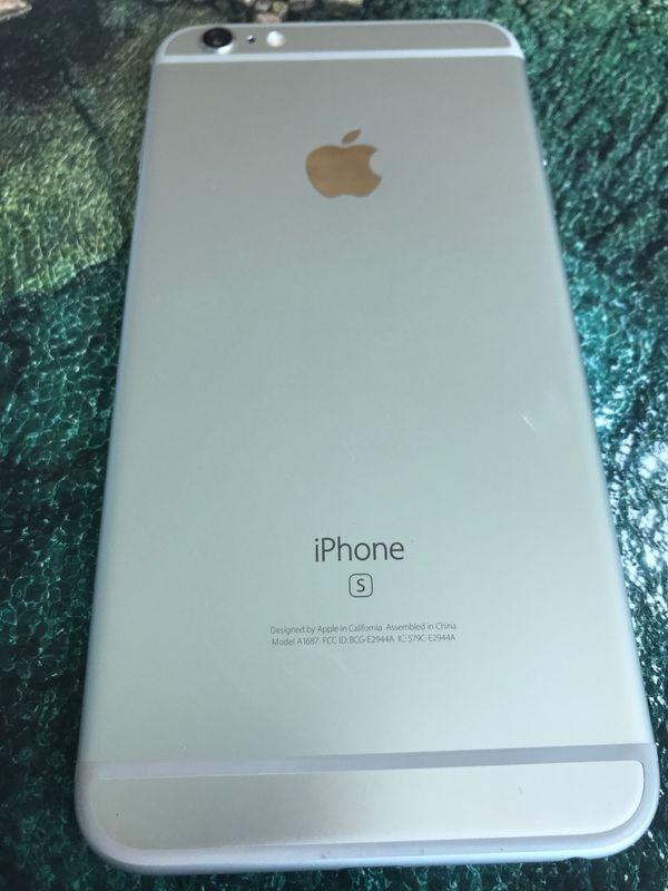 Apple IPhone 6s Plus 16gb Silver Unlocked