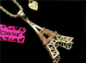 Beautiful! Betsey Johnson Eiffel Tower Charm w/Free Chain for Sale in Salisbury, NC
