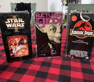 Star wars VHS for Sale in Golden Oak, FL