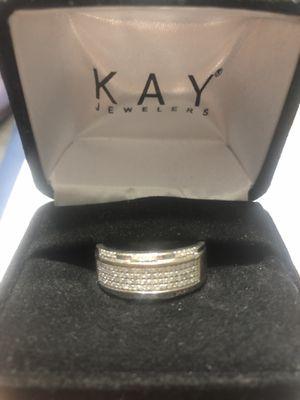 White Gold Diamond Wedding Ring (Men's) for Sale in Davenport, FL