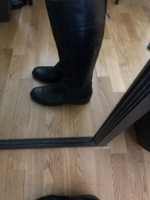 9 West Vintage America Tall Knee High Black Riding Boots. Size 9 for Sale in Atlanta, GA