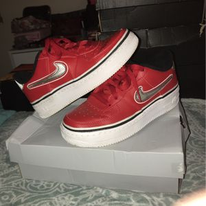 """Air Force1's LV8 Sport """"Varsity Red"""" for Sale in Gaithersburg, MD"""