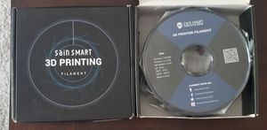 2 New rolls 3D Printing Filament 3mm for Sale in Council Bluffs, IA