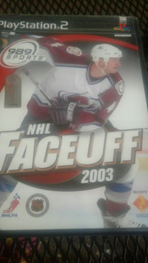 989 spots ps2 NHL Faceoff 2003 for Sale in Spring Valley, CA
