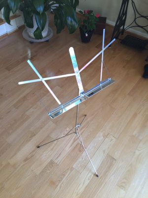 Metal music stand for Sale in Ashburn, VA