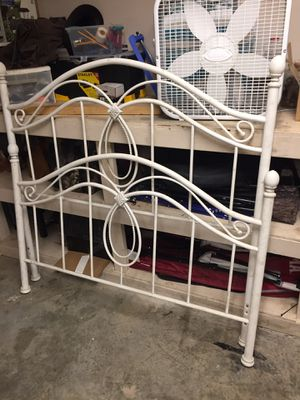 Full size iron bed frame for Sale in undefined