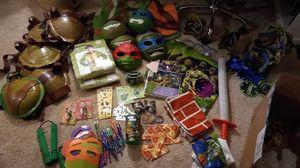 TMNT teenage mutant Ninja turtles birthday party for Sale in Broomfield, CO