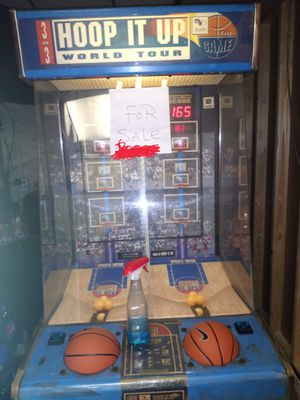 Hoop it up arcade for Sale in Orlando, FL