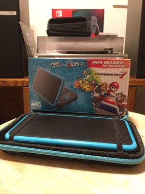 New Nintendo 2DS XL w/ Mario Kart 7 for Sale in Marina, CA