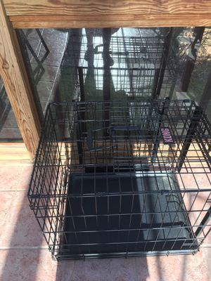 Kong dog cage 1 ft 9 inches tall, 1 ft 7 inches wide for Sale in MONTGOMRY VLG, MD