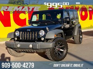 2015 Jeep Wrangler Unlimited for Sale in Fontana, CA