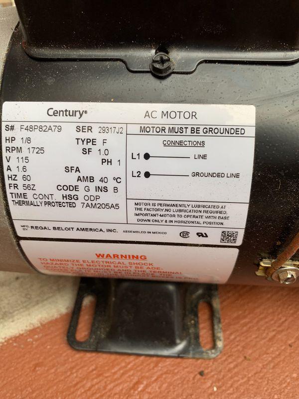 Brand new Iron mighty spa hot tub motor