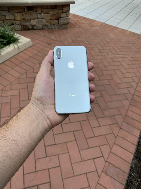 iPhone X 64 or 256 GB like new