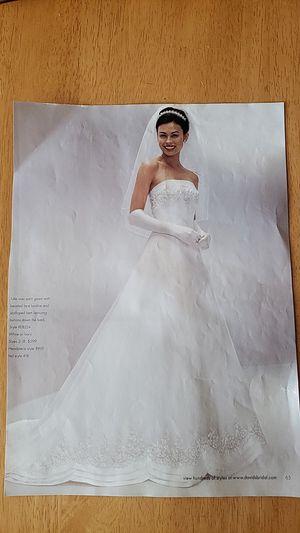 Michaelangelo Wedding Dress - size 14 for Sale in La Habra Heights, CA