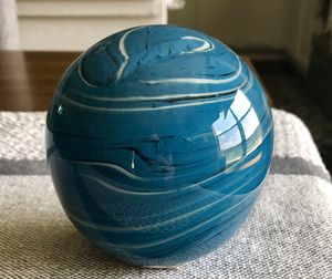 Glass swirl paper weight for Sale in Georgetown, TX