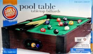 Tabletop Pool Table Billiards for Sale in San Diego, CA