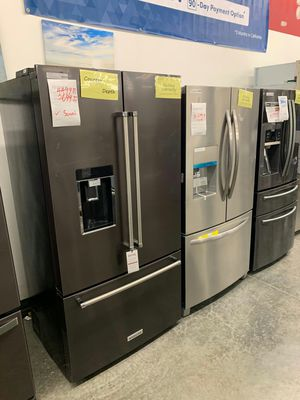 New KitchenAid Black Stainless Refrigerator for Sale in La Puente, CA