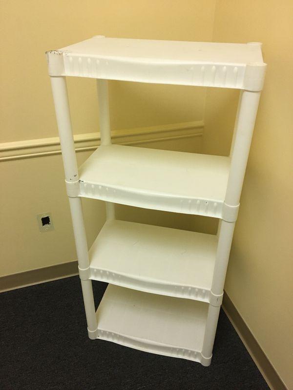 White Storage Shelving