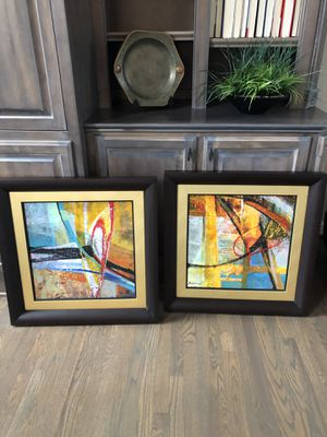 Two beautiful Abstract Pieces of Art for Sale in Brentwood, TN