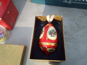 Decorative Christmas egg for Sale in Anaheim, CA