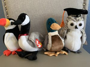 TY Beanie Baby birds for Sale in Manteca, CA