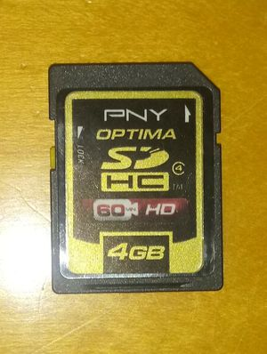 Two 4GB SD Cards for Sale in Chicago, IL
