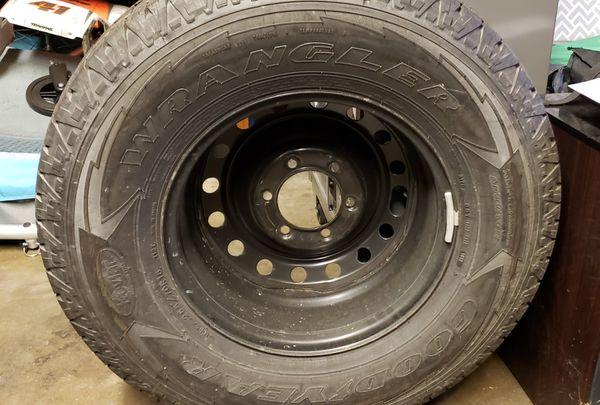 Toyota tacoma spare rim/tire