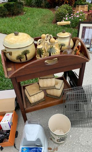 Wooden Cart for Sale in Land O Lakes, FL