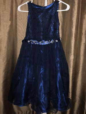 Beautiful Blue Kids Dress (9-10 yrs.) for Sale in Houston, TX