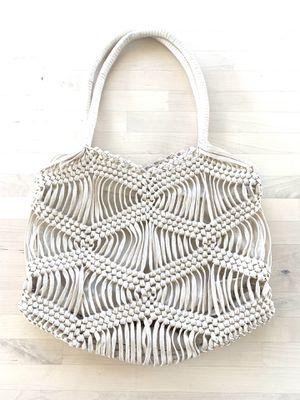 Brand new London Kaye Macrame boho bag for Sale in Bluffdale, UT