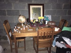 Kitchen Table with 4 Chairs Set for Sale in Dresher, PA