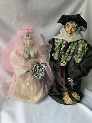 Handmade vampire and witch Halloween decorations for Sale in Lynnwood, WA