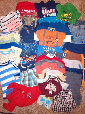 BABY BOY CLOTHES (0-9mo) for Sale in Great Falls, MT