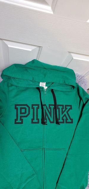 Brand New Victoria's Secret Pink VS Hoodie Full Zip Sweater Medium $42.00 for Sale in Gardena, CA