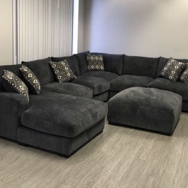 Take Home Today!! Large Grey Sectional Only $1999! Add An Ottoman For $299!