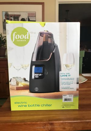 Food network electric wine bottle chiller for Sale in Manassas, VA