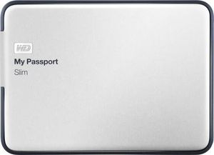 WD My Passport Slim 1 TB External HDD - WDBGMT0010BAL - USB 3.0 for Sale in Portland, OR