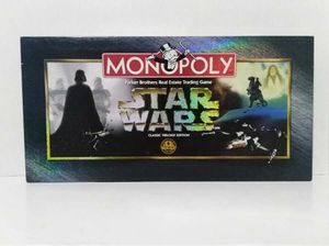 1997 Monopoly Star Wars Classic Trilogy Edition 100% Complete for Sale in Cypress, TX