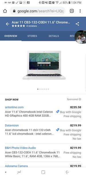 Google Chromebook for Sale in Chico, CA
