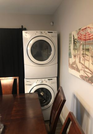 Whirlpool stackable washer and dryer for Sale in Cooper City, FL