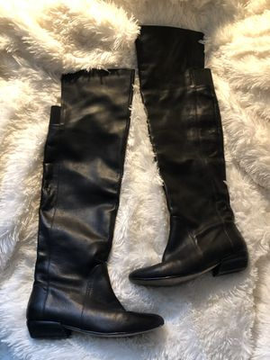 Chinese Laundry OTK leather boots Sz 6 for Sale in Houston, TX