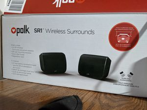 Polk SR1 bluetooth speakers for Sale in Akron, OH
