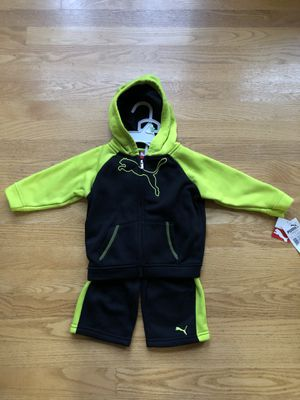 Puma 2 Piece Set 18 Months New with Tags for Sale in Bothell, WA