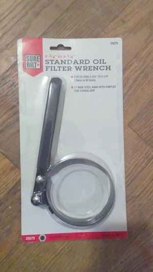 Standard oil filter wrench for Sale in Atlanta, GA