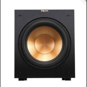 "Klipsch R-12SW 12"" Subwoofer Speaker Like New for Sale in Bethesda, MD"