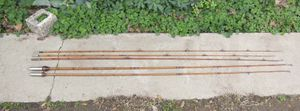 Vintage Bamboo Fishing Poles for Sale in Fresno, CA