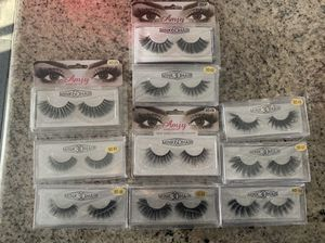 Eyelashes, Glue, Makeup Brushes for Sale in Fontana, CA