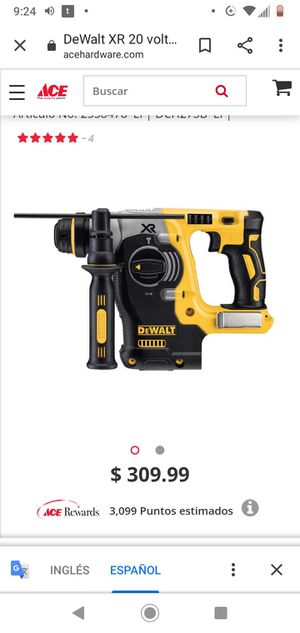 DeWalt XR 20 Volt Wireless Brushless Hammer Bare Tool Drill 1 in. 1100 rpm for Sale in Kensington, MD